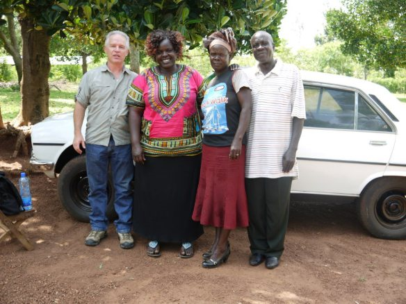 Pastor Rob and Mildred with Pastor Joshua Mugabe and his wife.