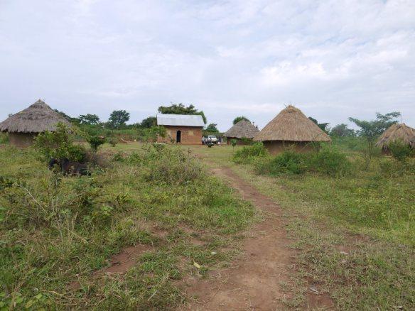 Pastor Ogutu's home.
