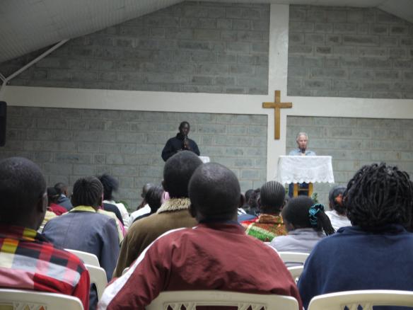Pastor Rob Teaching