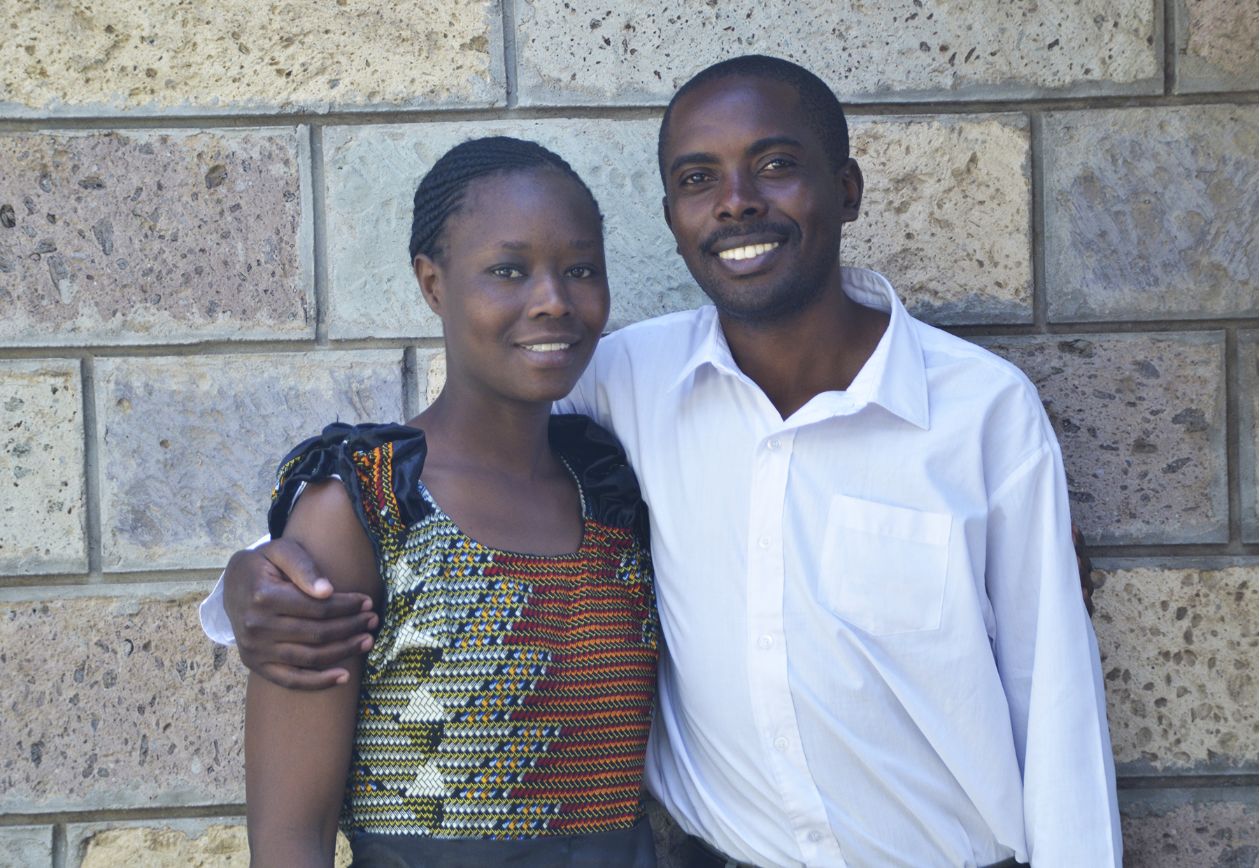 Pastor Peter Gichuki and his wife Sarah