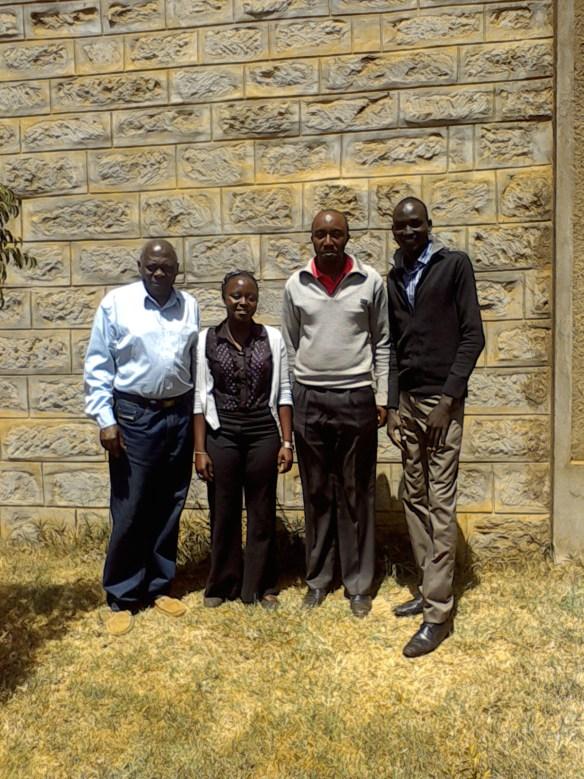 Mzee Yatich, Raima (Alphax College Student), Martin, Emmanuel