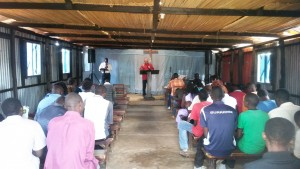 Teaching in the Kakamega Church