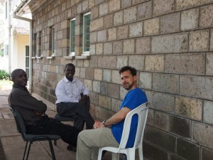 Pastor Peter of Kwa Njenga, Pastor Ben of Umoja, and Pastor Jeff