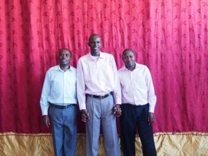 Pastor Peter, Pastor Zadok, and Pastor Joseph